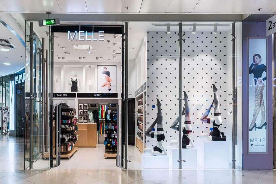 Melle – сеть магазинов носочно-чулочных изделий