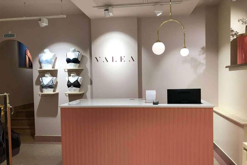 Valea – магазин специализированного женского белья и купальников