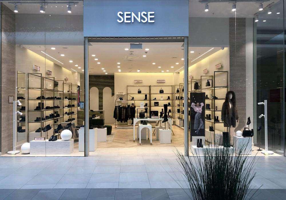 SENSE — открытие первого магазина